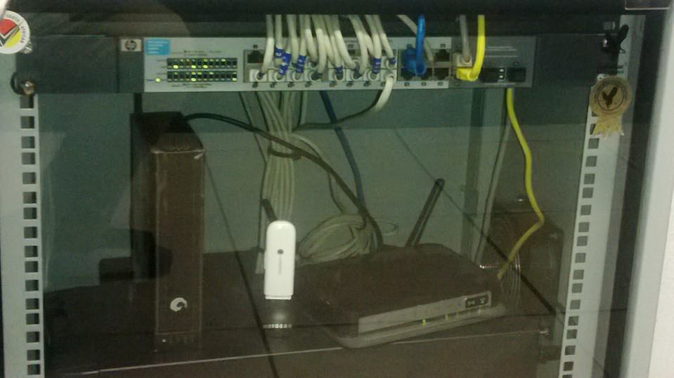 Most Innovative Internet Setup Ever…