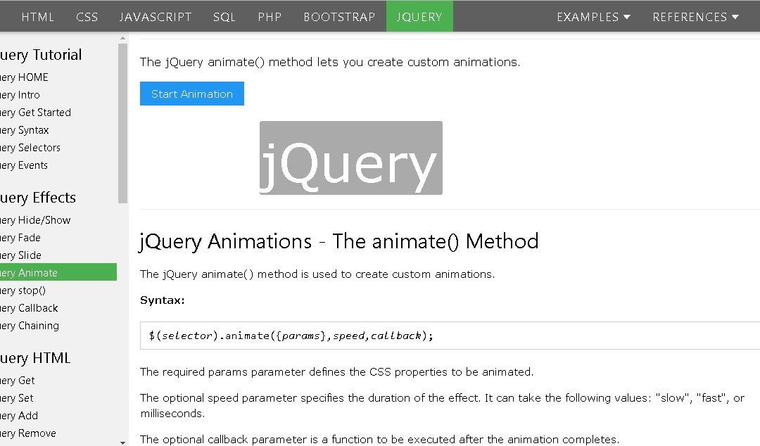 Day 1 – JQuery